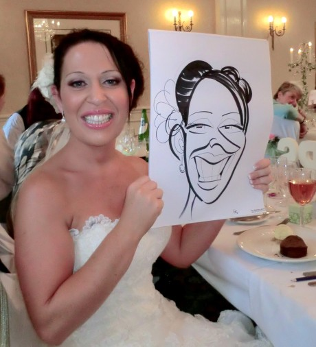 Bridal caricature