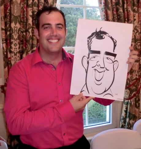 Groom caricature