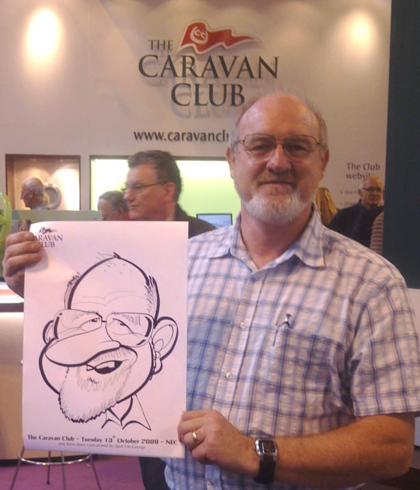 A happy Caravan Man!