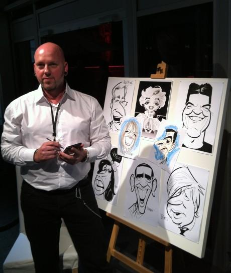 Samsung Caricaturist George