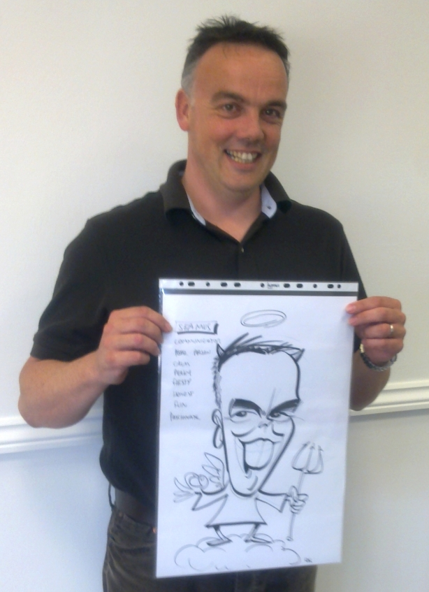 Tesco caricatures