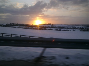snowy M1 to York