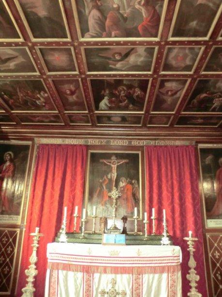 Glamis chapel