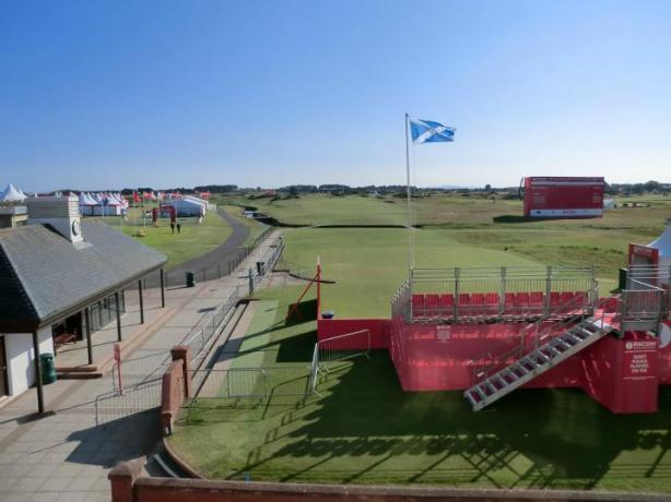 Carnoustie first tee