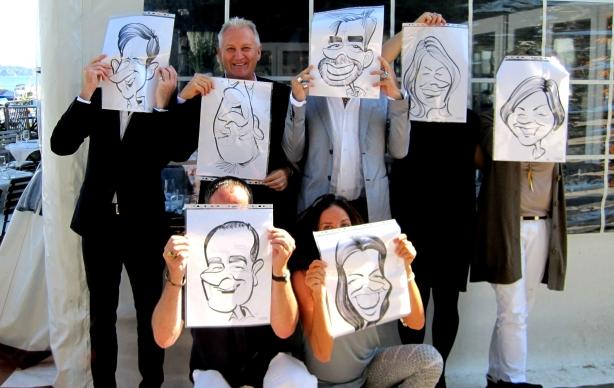 Zurich caricatures