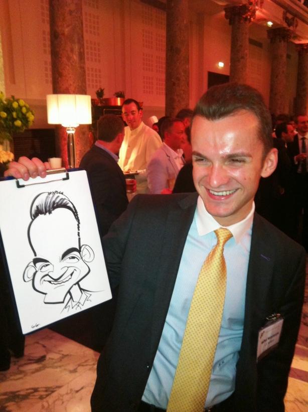 Paris caricaturist