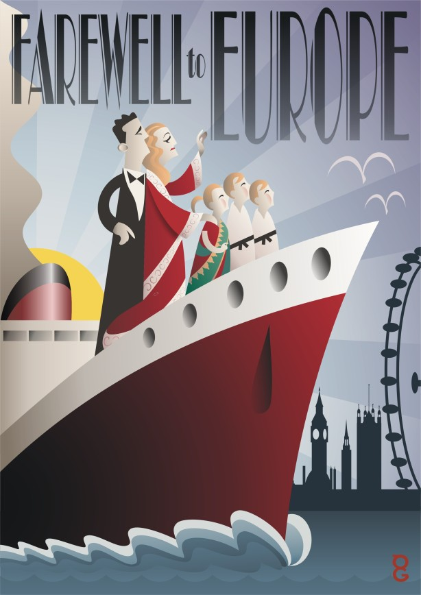 Art Deco illustration