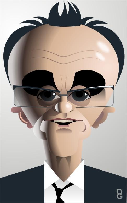 Danny Boyle caricature