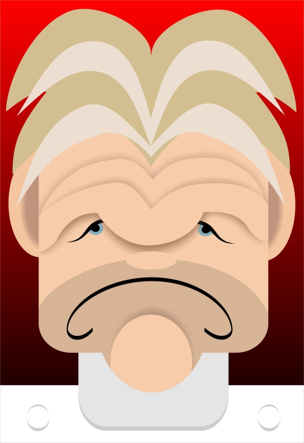 Gordon Ramsey caricature