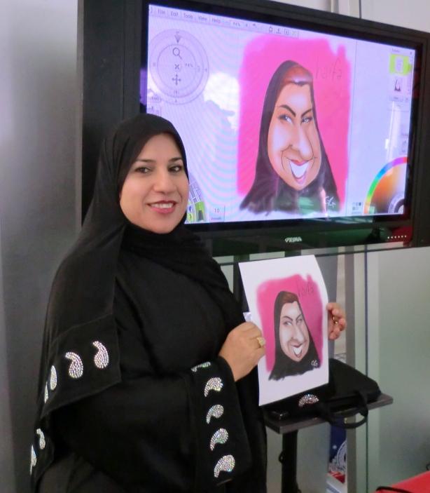 Bahrain caricatures