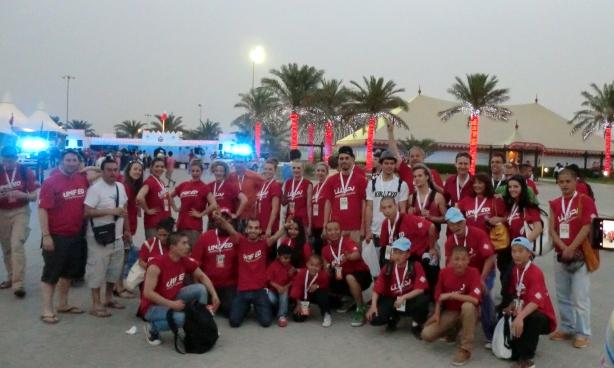 F1 team photo