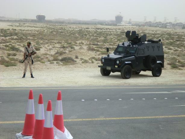 Additional Bahrain security