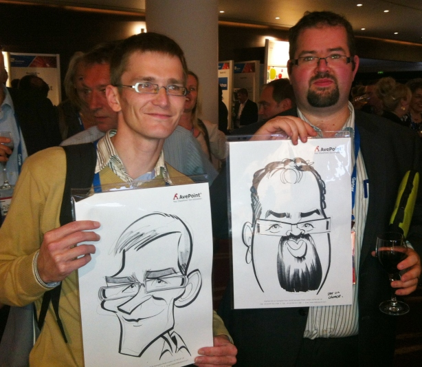 corporate caricatures
