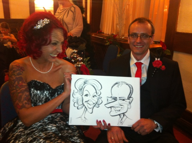 brides caricature