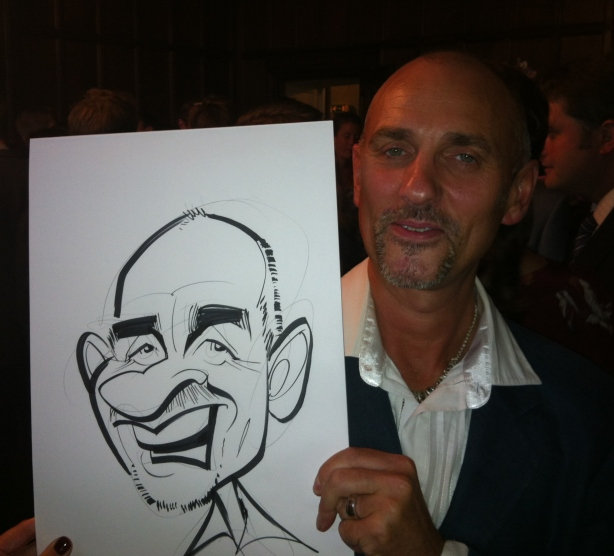 Terry Rallings caricature