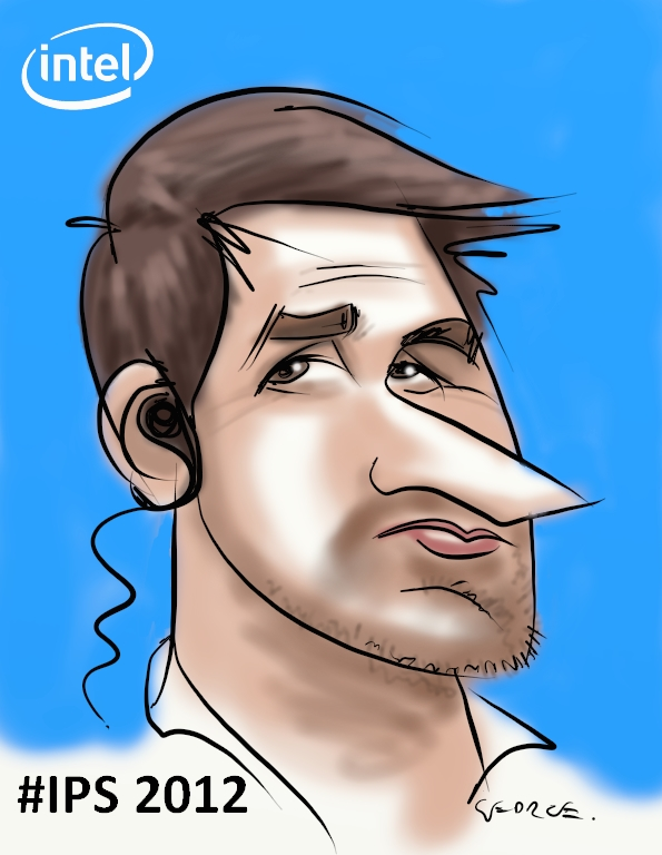 Intel caricatures