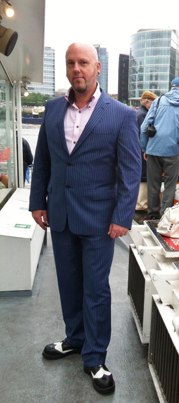 George's suit