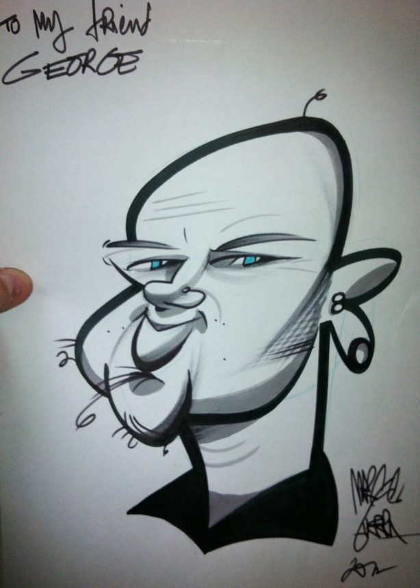 george's caricature