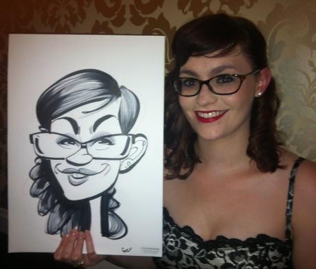 John Lewis caricatures