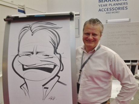 Edding caricatures