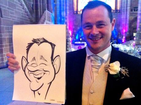 Liverpool Cathedral caricatures