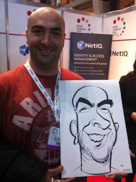 exhibition caricatures