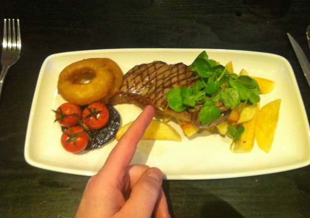 tiny steak