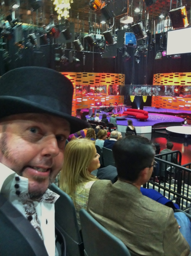 Graham Norton stage
