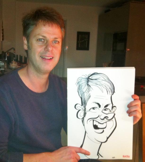 Xmas caricatures