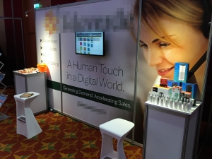 FOH exhibition stand