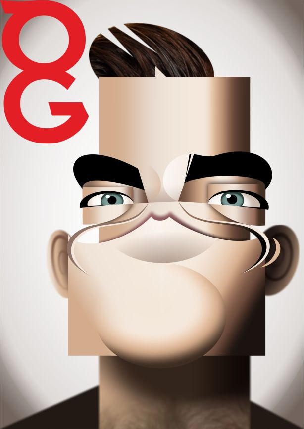 Robbie Williams GQ